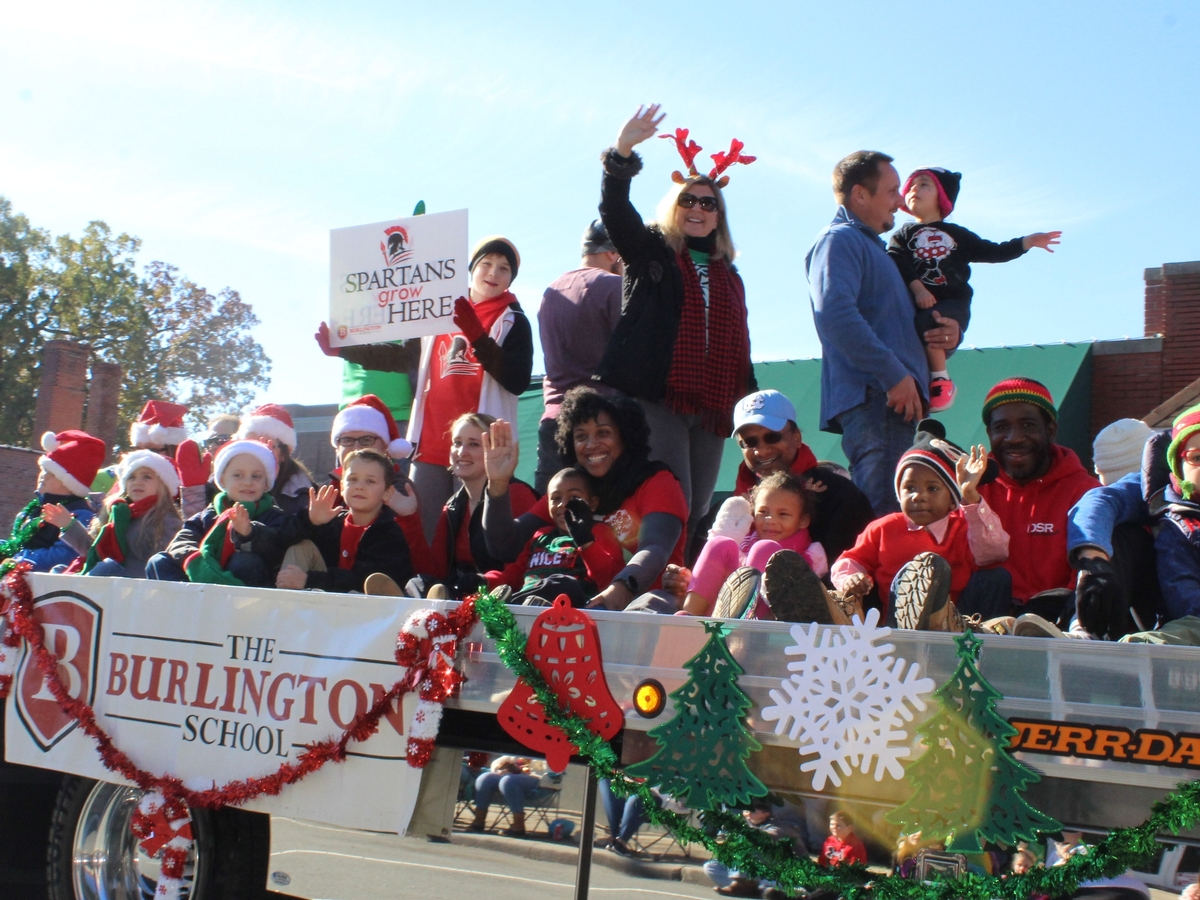 TBS float in the 2018 Christmas parade