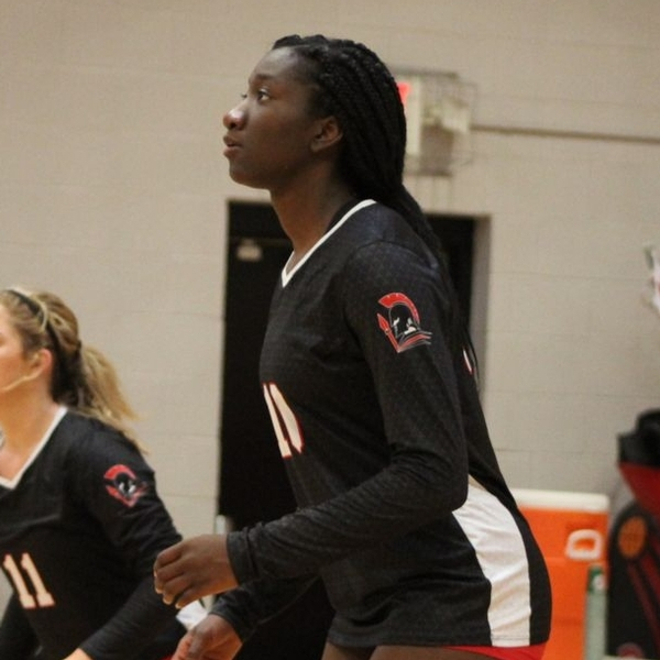 Molina Williams, volleyball action