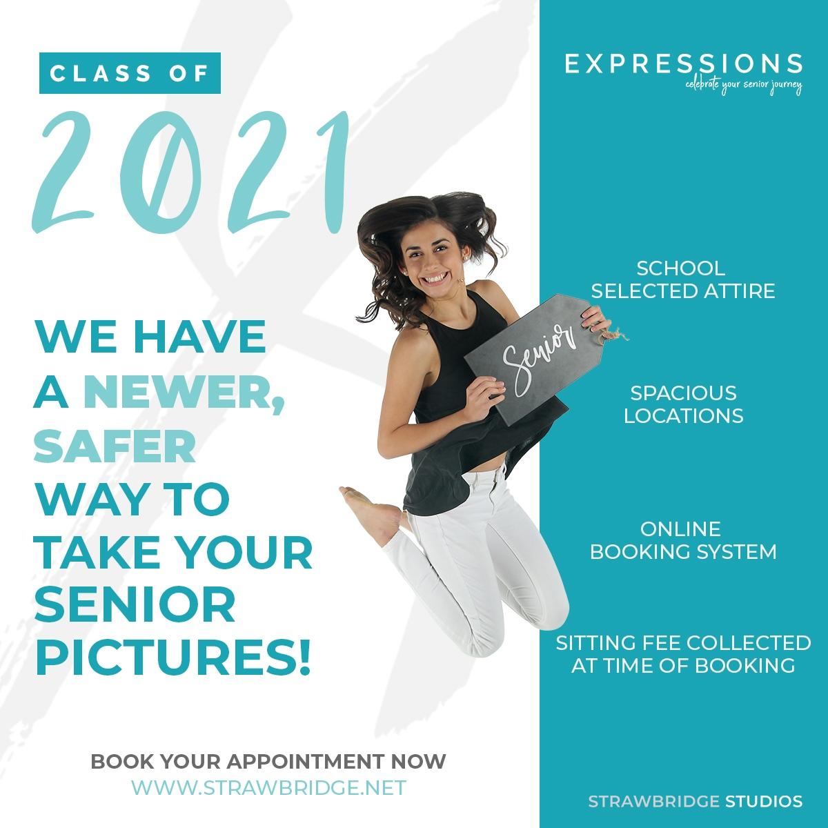 Senior portrait information