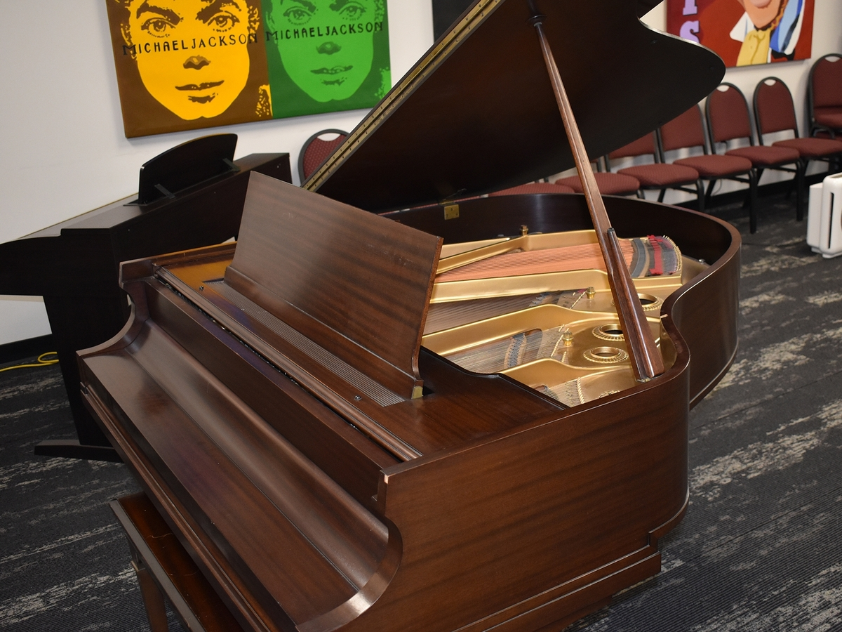 Piano gifted to TBS by the Lindley Family