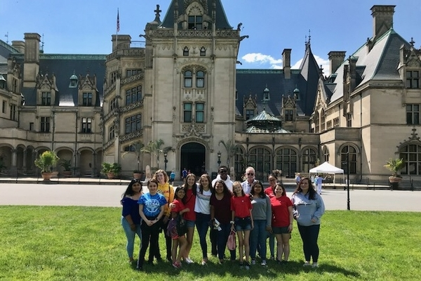 Students visit Asheville, N.C.