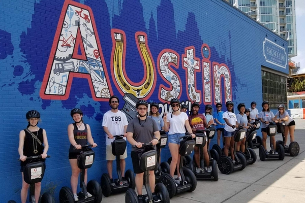 Students traveled to Austin, Texas