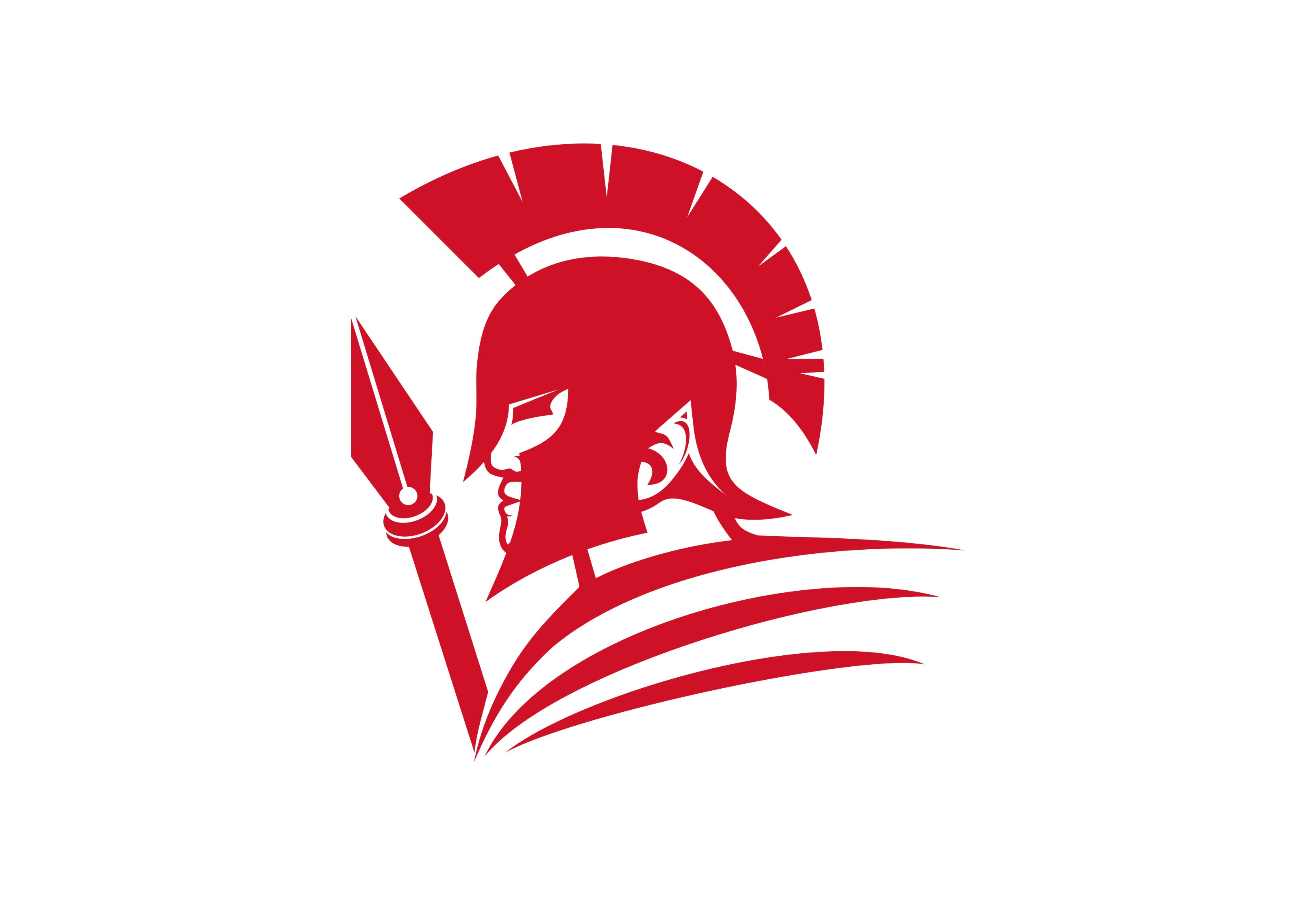 Spartan logo red