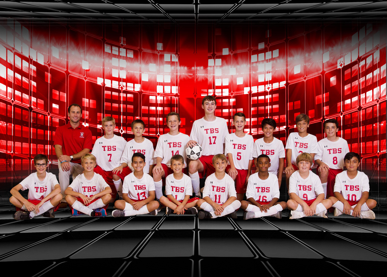 2018 Middle School boys soccer team
