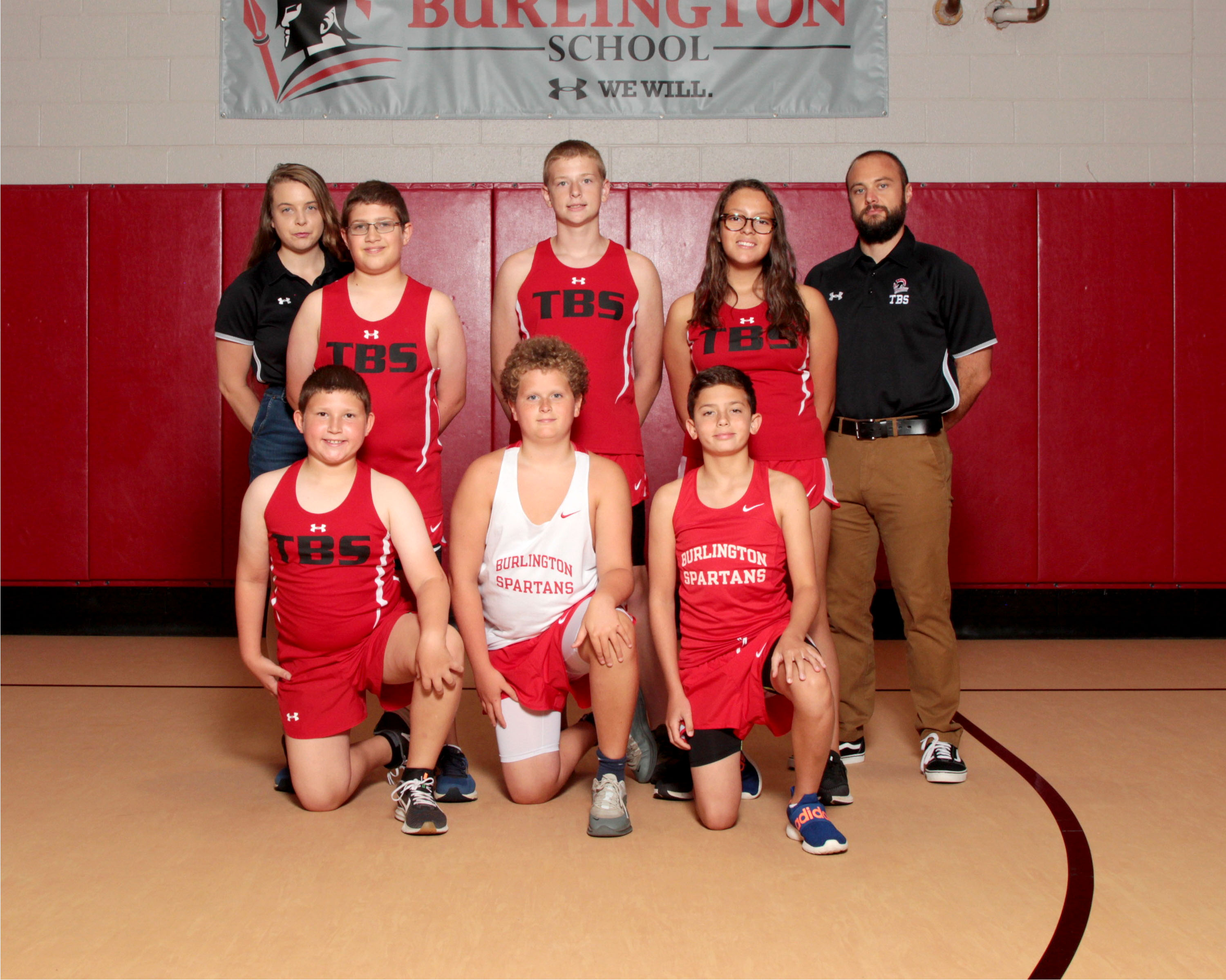 2019 Middle School Cross Country Team