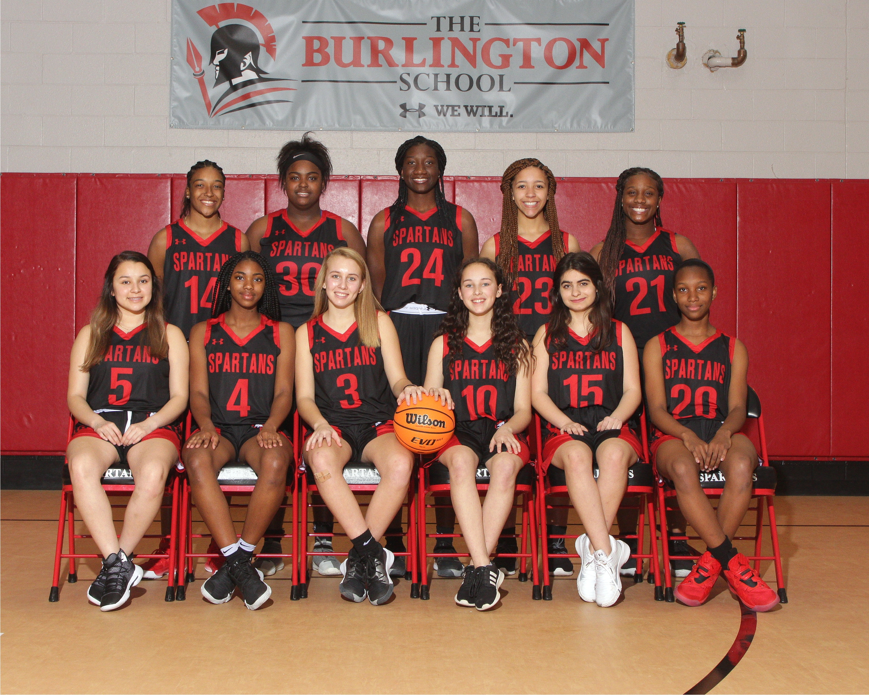 2019-20 varsity girls basketball team