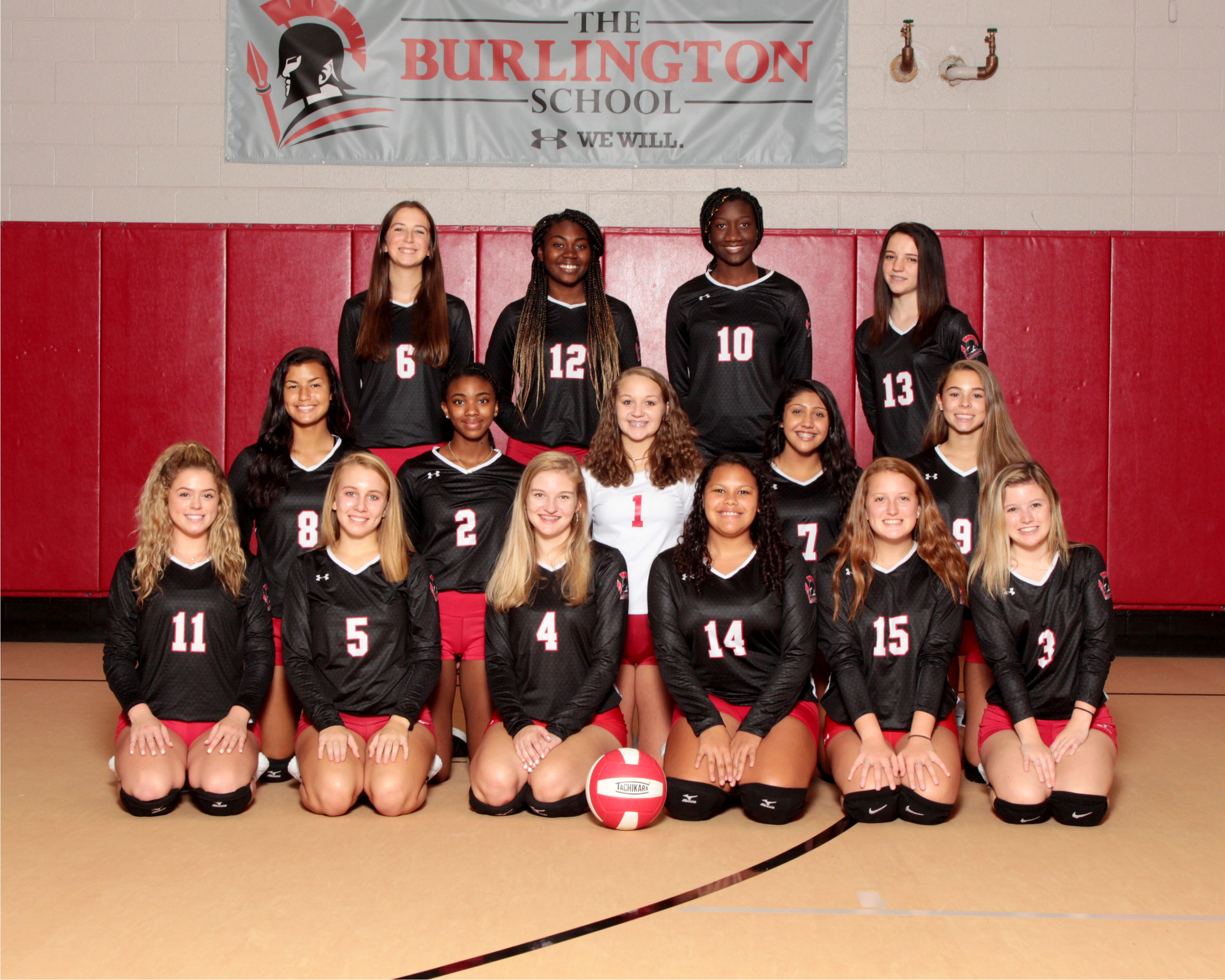 2019 Varsity Volleyball Team