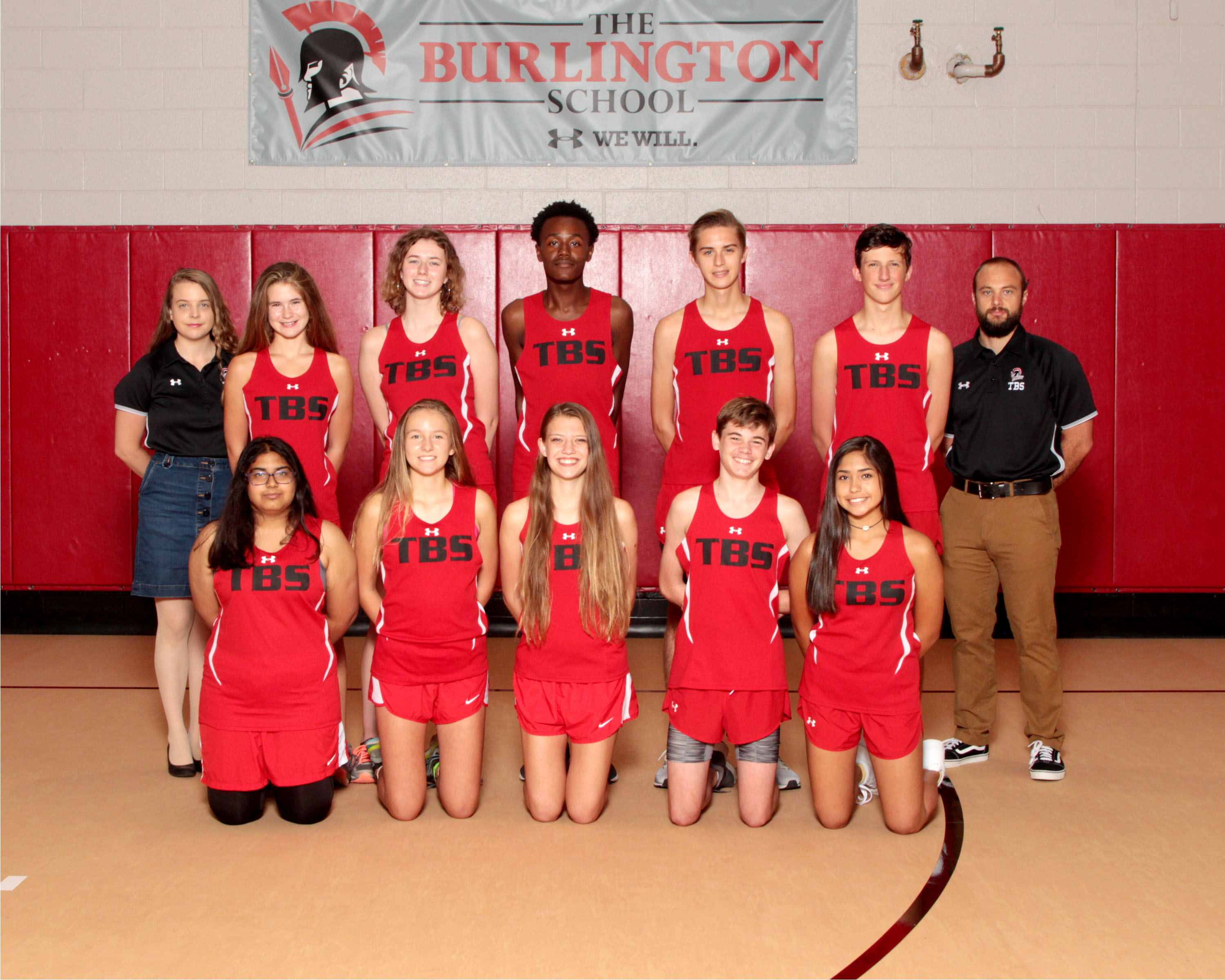 2019 Varsity Cross Country Team