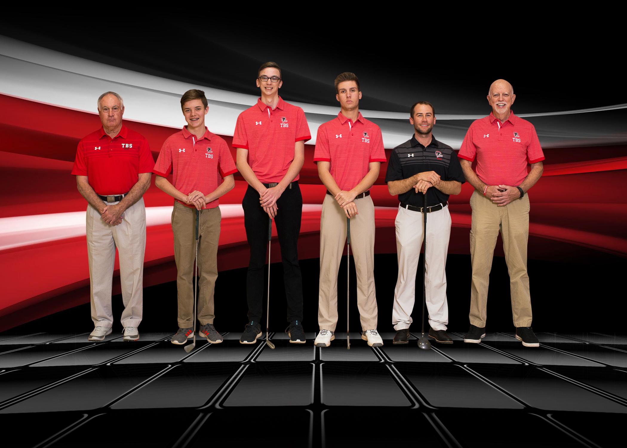 varsity boys golf team